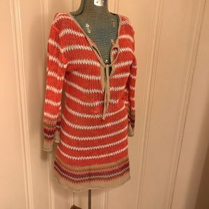 Tommy Bahama 3/4 sleeve Sweater Swimsuit Cover Up